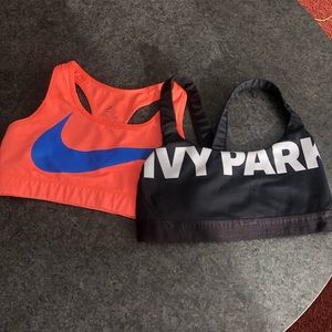 Medium Ivy Park+Nike Sports Bra Bundle